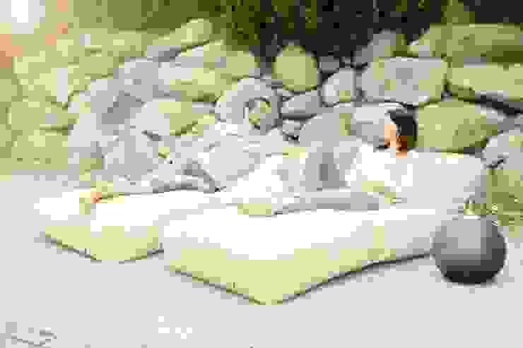 OUTBAG - Lounge Stretcher foldable (Style: Peak) Global Bedding GmbH & Co.KG Balkon, Veranda & TerrasseMöbel Baumwolle Beige