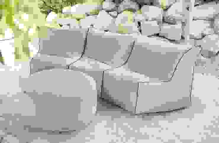 OUTBAG - Lounge Corner (Style: Piece with Zipper) Global Bedding GmbH & Co.KG Balkon, Veranda & TerrasseMöbel Kunststoff Braun