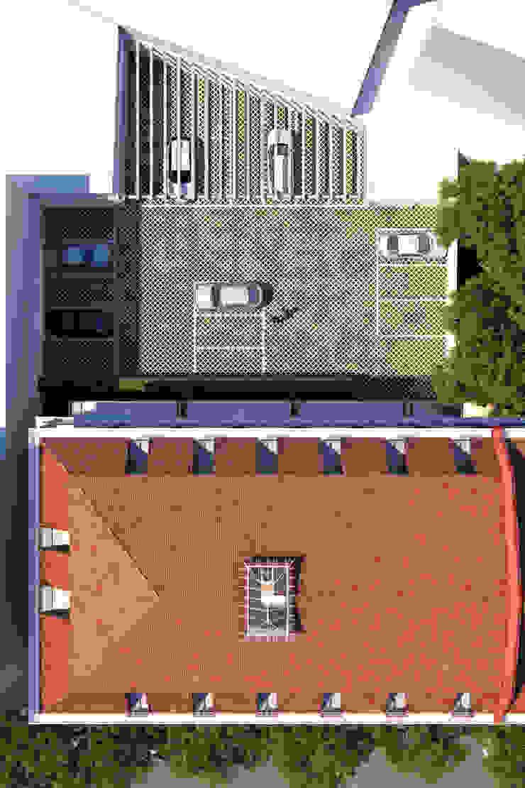 APARTAMENTO LUXO - T1 - AVENIDA DA LIBERDADE Garagens e arrecadações modernas por EU LISBOA Moderno
