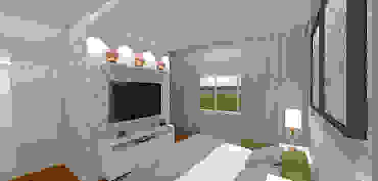 Classic style bedroom by Gabriela Sgarbossa - Estúdio de Arquitetura Classic MDF