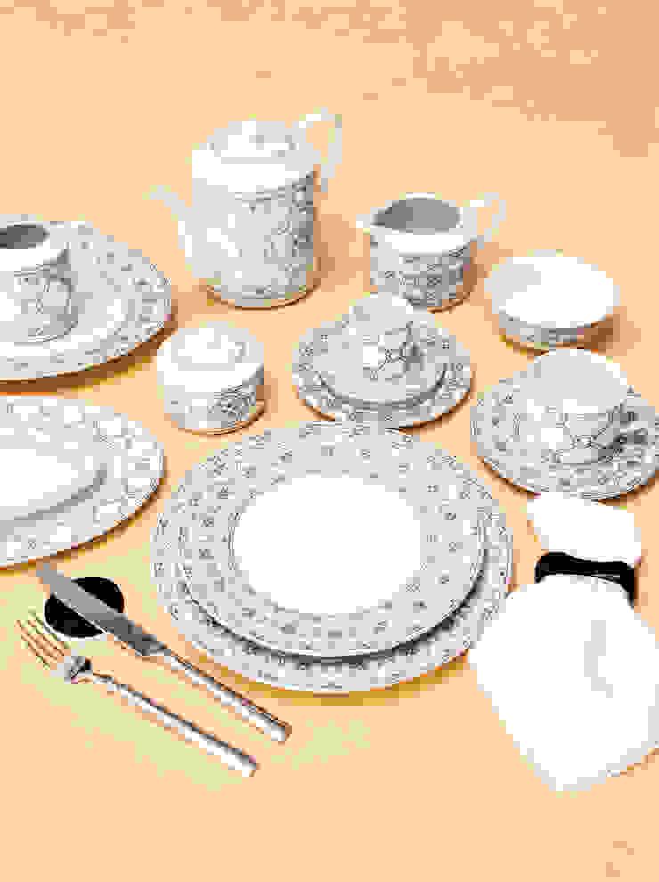 Dynasty Porcel - Indústria Portuguesa de Porcelanas, S.A. Dining roomCrockery & glassware Porcelain Black