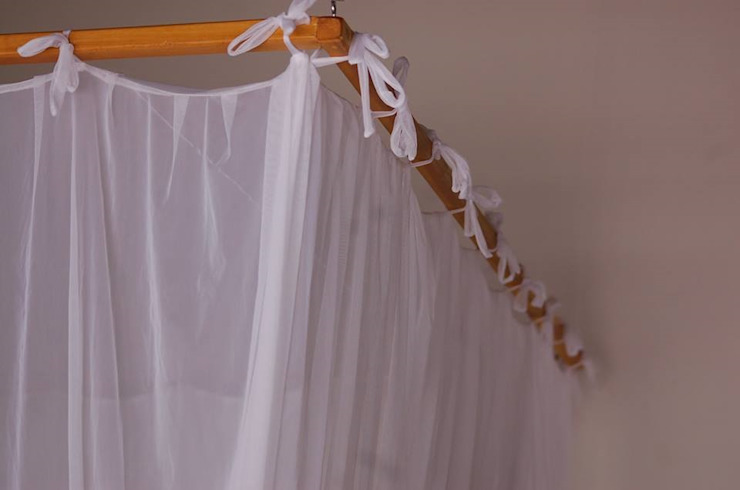 Mosquiteiros de Armação BedroomTextiles Textile White