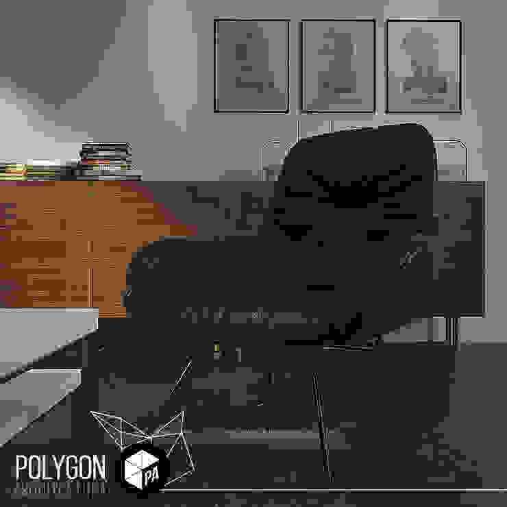 Salas de estilo moderno de Polygon Arquitectura Moderno