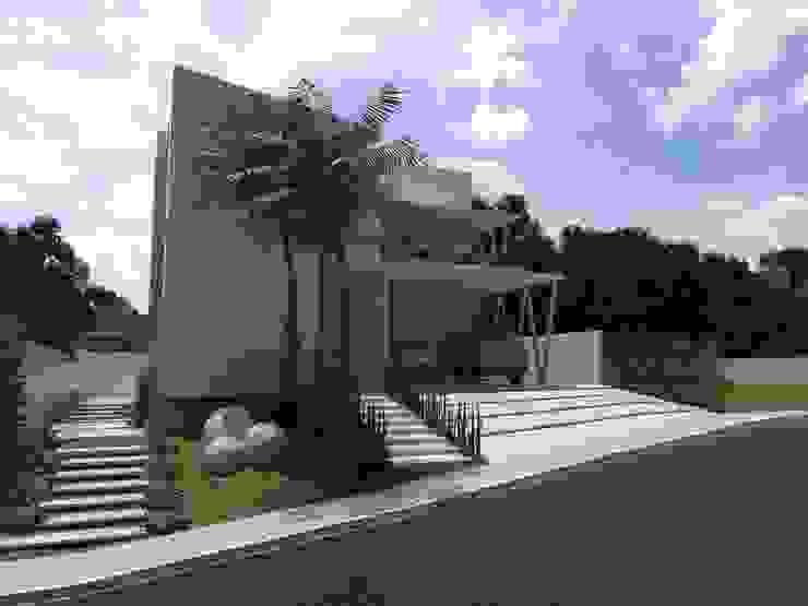 Casas de estilo  por Larissa Vinagre Arquitetos