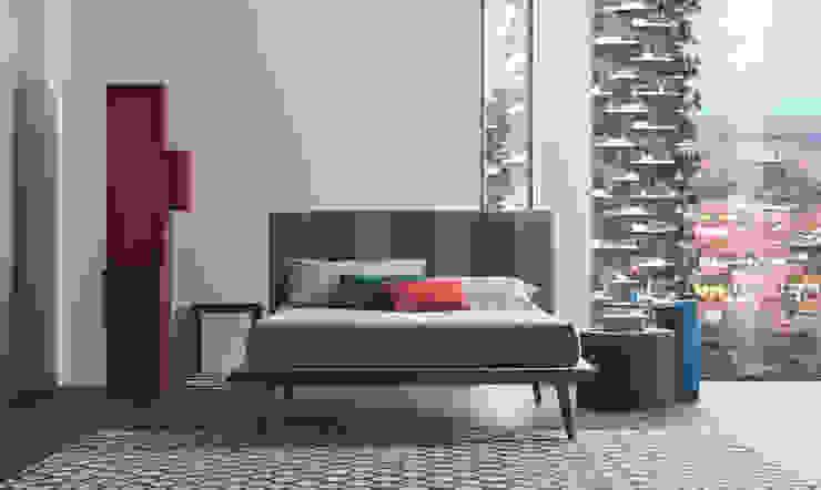 мінімалістський  by OGGIONI - The Storage Bed Specialist, Мінімалістичний Текстильна Янтарний / Золотий