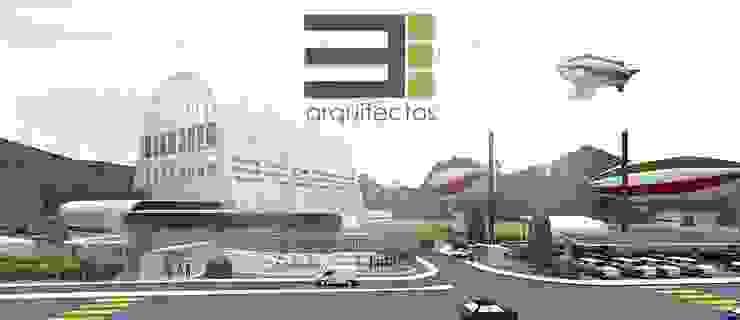 Centro Científico y Tecnológico Contra la Contaminación Atmosférica de TRES arquitectos