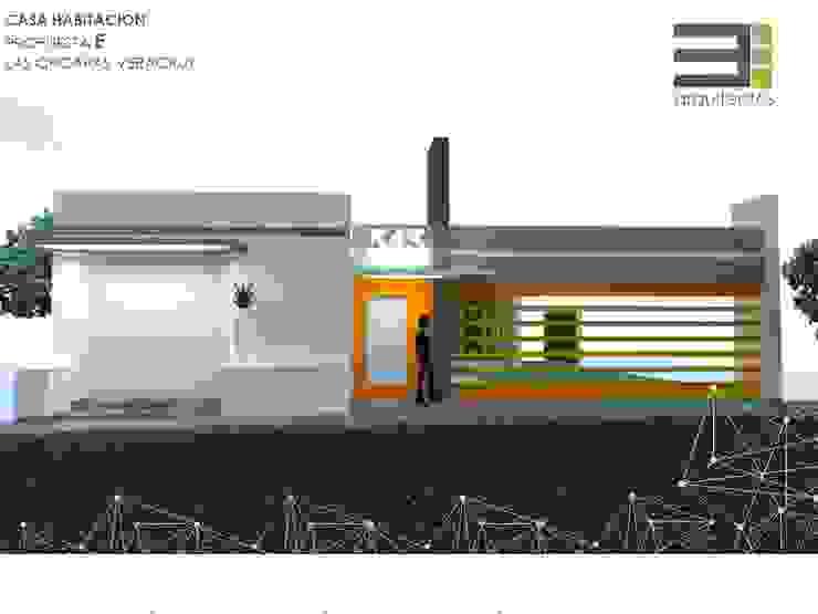 Casa Habitación Las Choapas Veracruz P-E Casas modernas de TRES arquitectos Moderno Concreto reforzado