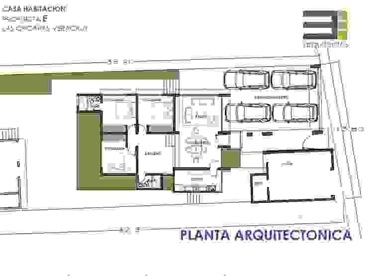 Casa Habitación Las Choapas Veracruz P-E de TRES arquitectos