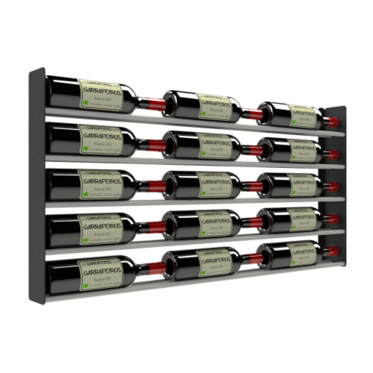 Garrafeiros - Adegas para Vinho Bodegas Metal Negro
