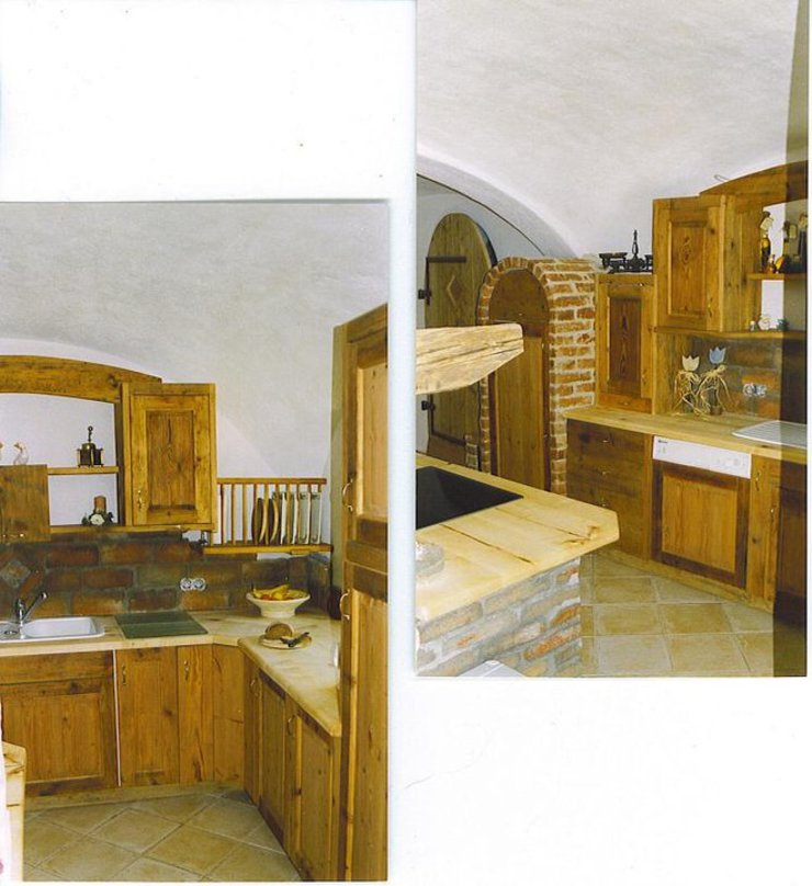 Küche CASA Santa Barbara Landhaus Küchen Holz