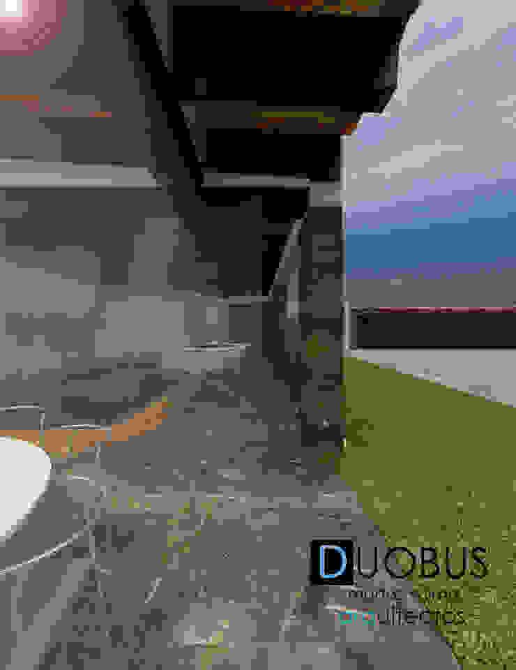 remodelación casa J.L.C. Balcones y terrazas modernos de DUOBUS M + L arquitectos Moderno