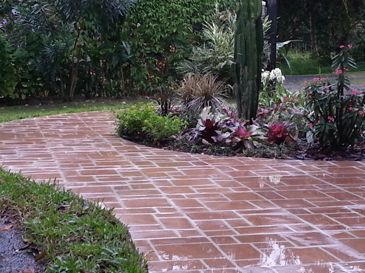 COUNTRY HOME—EL VALLE, PANAMA Country style garden by TARTE LANDSCAPES Country