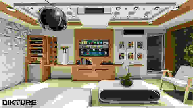 ทันสมัย  โดย DIKTURE Arquitectura + Diseño Interior, โมเดิร์น