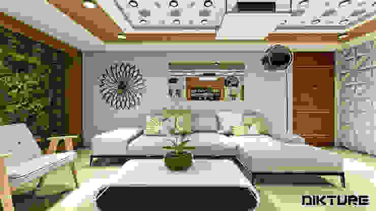 modern  by DIKTURE Arquitectura + Diseño Interior, Modern