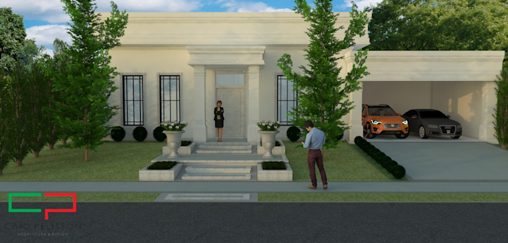 Classic style houses by homify Classic