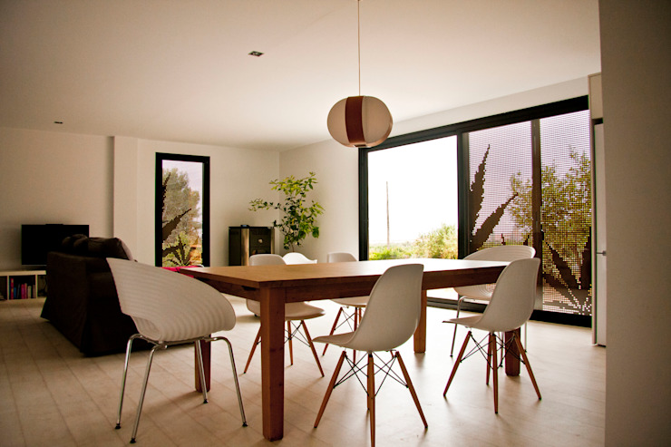 Modern Dining Room by james&mau Modern