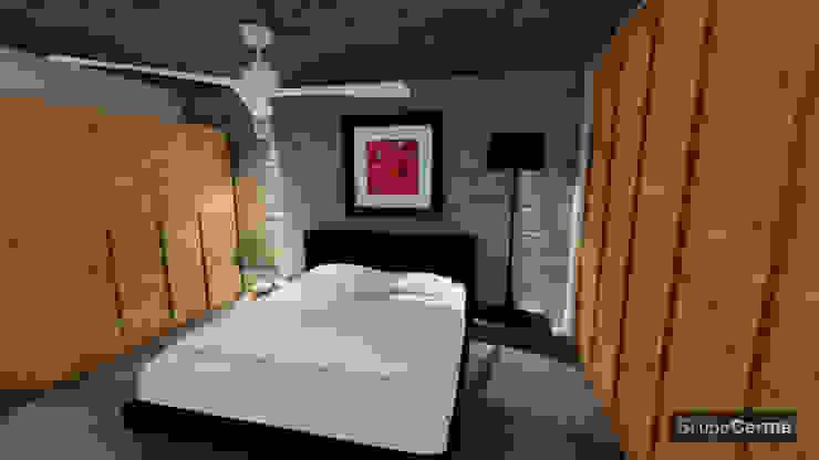 Casa Tz'onot Salones modernos de Grupo Cerma Moderno