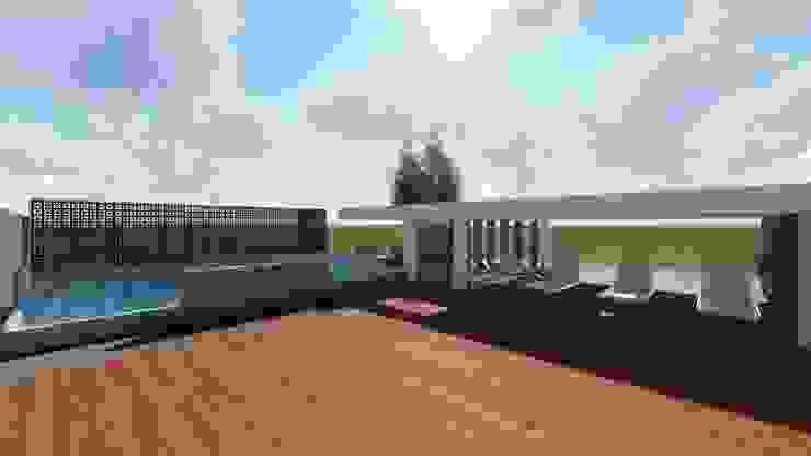 Casa Tz'onot Casas modernas de Grupo Cerma Moderno