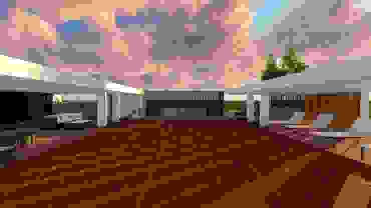 Casa Tz'onot Jardines modernos de Grupo Cerma Moderno