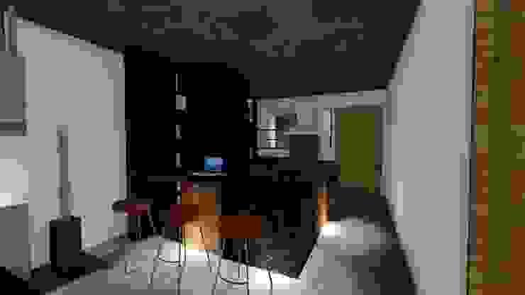 Casa Tz'onot Cocinas modernas de Grupo Cerma Moderno