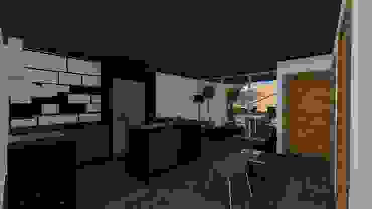 Casa Tz'onot Estudios y despachos modernos de Grupo Cerma Moderno