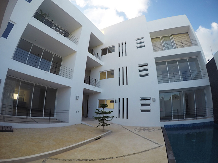 Casa Tunich Casas modernas de Grupo Cerma Moderno