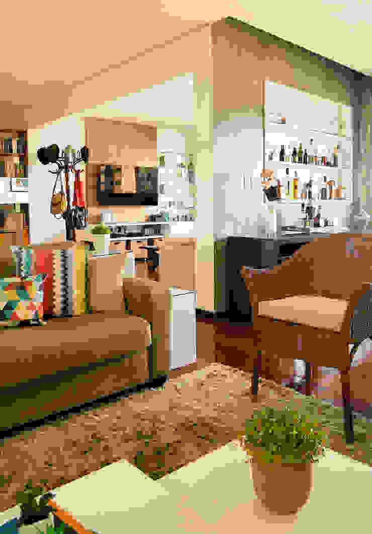 Sala de Estar Salas de estar modernas por Ladrilho Urbanismo e Arquitetura Moderno