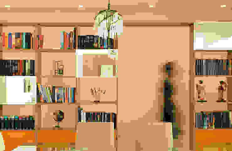 Detalhe mobiliário por Ladrilho Urbanismo e Arquitetura Moderno MDF