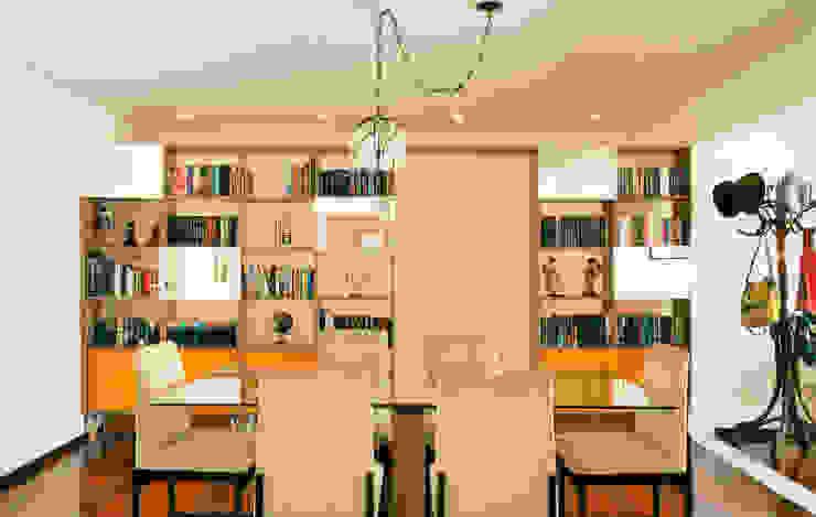 Sala de jantar Salas de jantar modernas por Ladrilho Urbanismo e Arquitetura Moderno MDF
