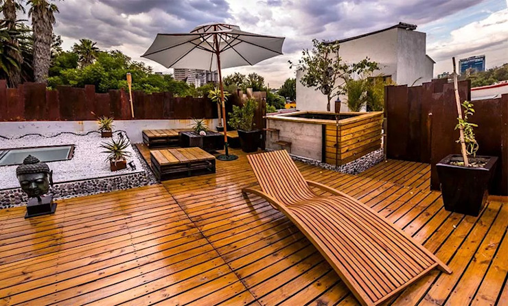 Brisa 180 Hoteles de estilo moderno de Grupo Cerma Moderno