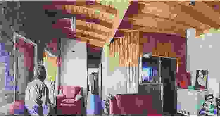 Casa A-V Rodrigo Chávez Arquitecto Livings de estilo moderno