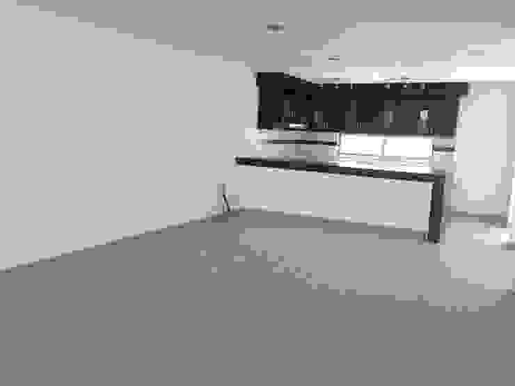 Navecsa Constructora Minimalist dining room Ceramic Beige