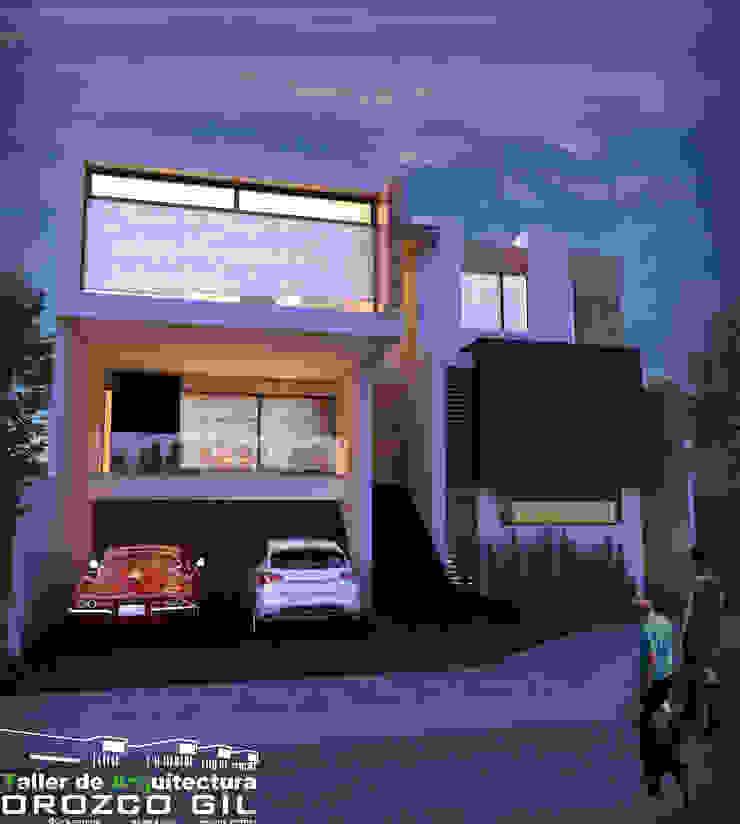 CASA CG-2 RT Casas minimalistas de OROZCO GIL TALLER DE ARQUITECTURA Minimalista