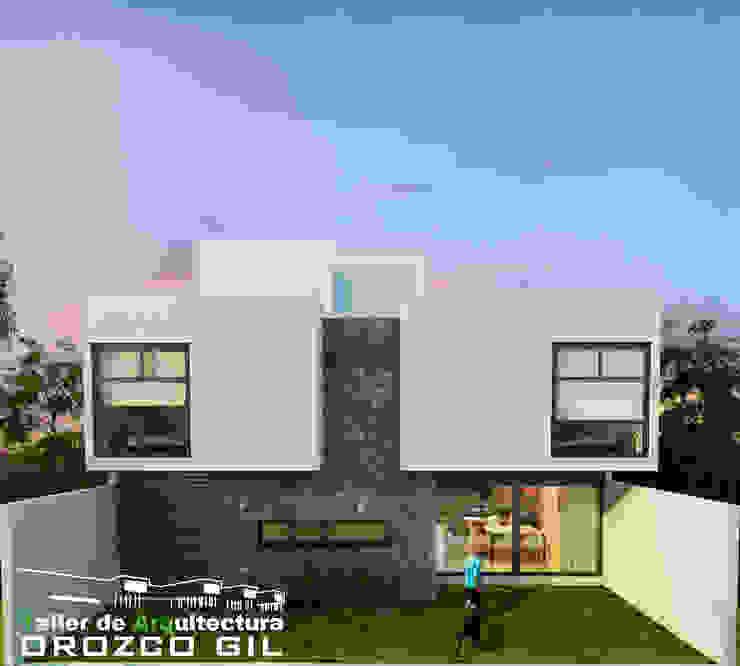 CASA CADENA Casas minimalistas de OROZCO GIL TALLER DE ARQUITECTURA Minimalista