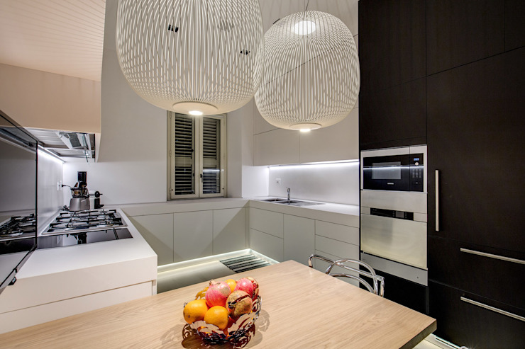 GERMANICO Cucina moderna di MOB ARCHITECTS Moderno