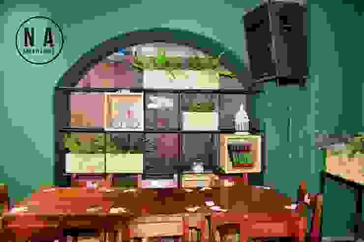 NA Arquitectos Modern bars & clubs Wood Green