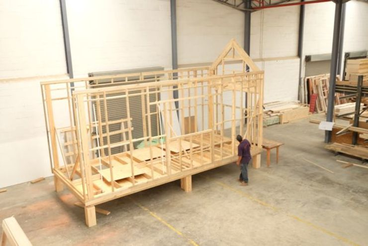 Framework going up.:   by Greenpods