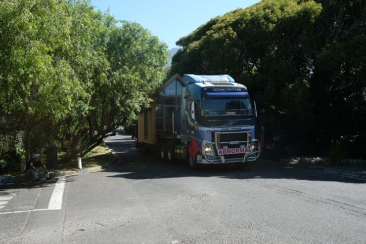 """Transporting the pod house to site.: {:asian=>""""asian"""", :classic=>""""classic"""", :colonial=>""""colonial"""", :country=>""""country"""", :eclectic=>""""eclectic"""", :industrial=>""""industrial"""", :mediterranean=>""""mediterranean"""", :minimalist=>""""minimalist"""", :modern=>""""modern"""", :rustic=>""""rustic"""", :scandinavian=>""""scandinavian"""", :tropical=>""""tropical""""}  by Greenpods,"""