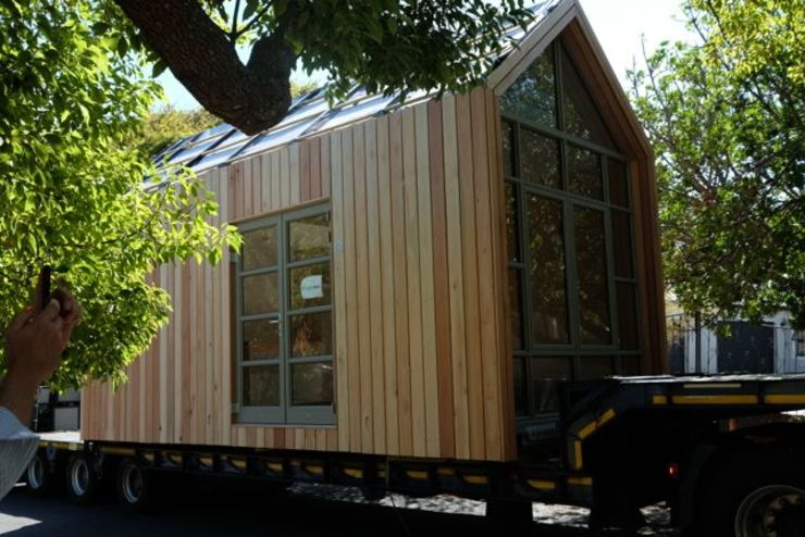 Greenpods 18+ modular timber pod house. by Greenpods