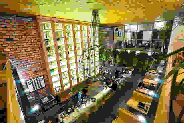 Tuğla Duvar Uygulaması - Cadde Üstü Restaurant Doğaltaş Atölyesi Rustik Tuğla