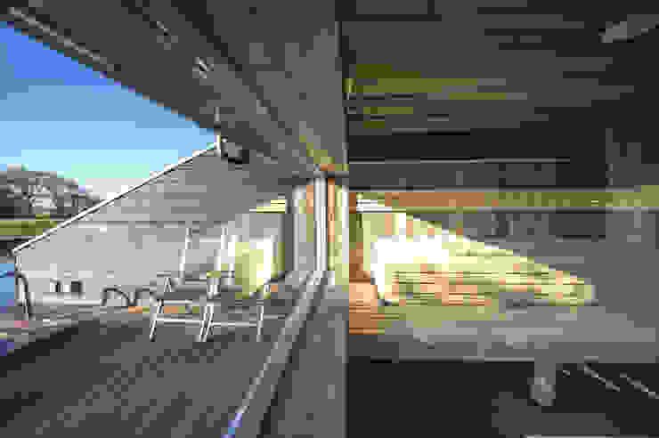 sauna van Heeren 3 Architecten Scandinavisch Hout Hout