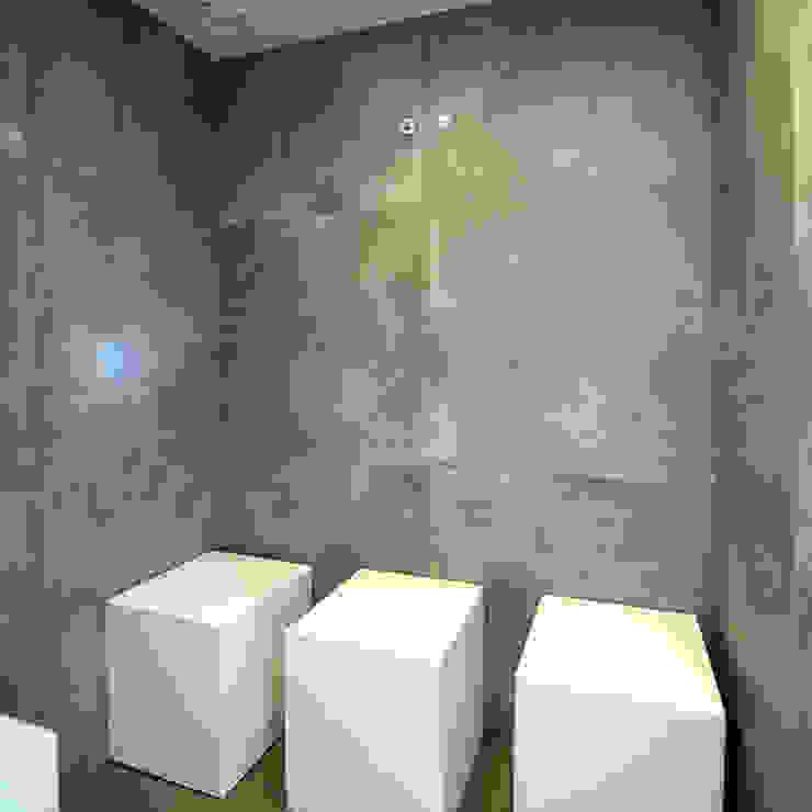 stoomcabine Moderne spa's van Heeren 3 Architecten Modern Beton