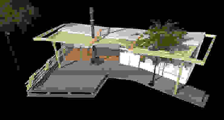 vlinderwoning Moderne huizen van hans moor architects Modern
