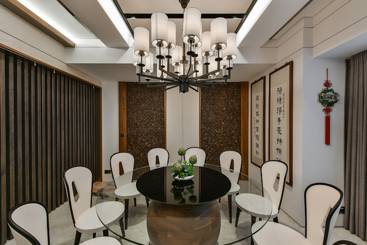 Asian style dining room by Luova 創研俬.集 Asian