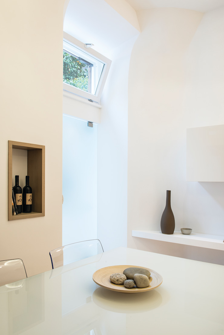 Salas de jantar modernas por STUDIO ACRIVOULIS Architettra + Interior Design Moderno