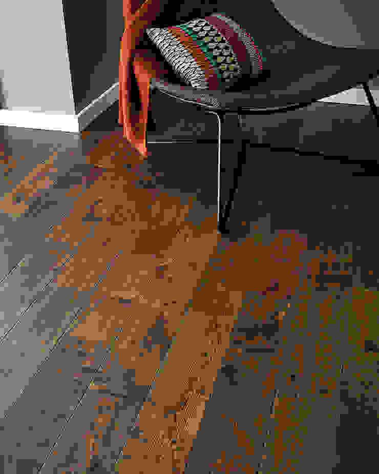 York Antique Oak by Woodpecker Flooring Rustic Solid Wood Multicolored