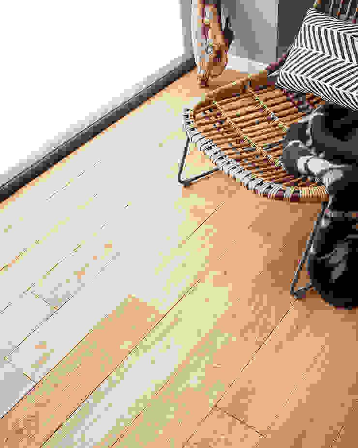 York Select Oak Modern Walls and Floors by Woodpecker Flooring Modern Solid Wood Multicolored