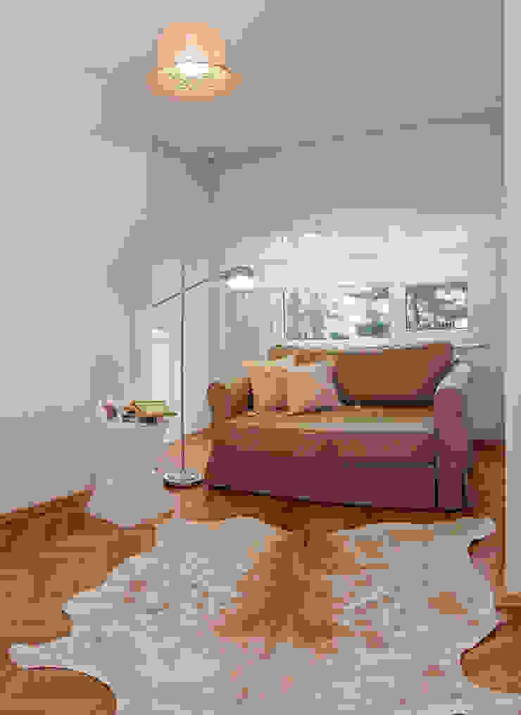 Ulus Y Evi Modern Oturma Odası Parlaq Interiors Modern