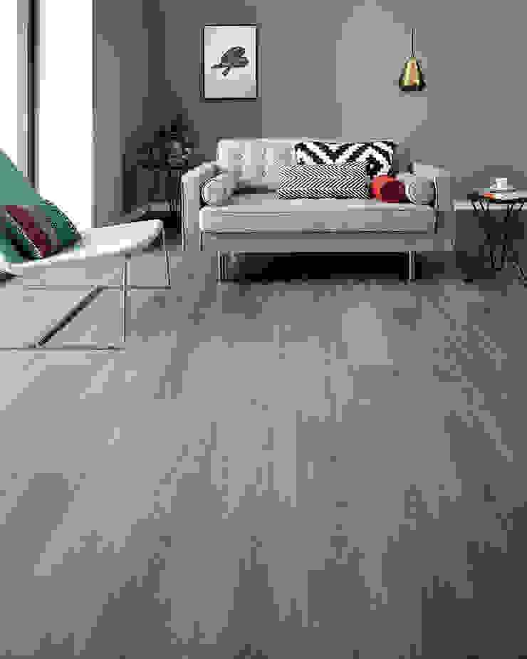 Wembury Nordic Oak Moderne Wände & Böden von Woodpecker Flooring Modern Holz Holznachbildung