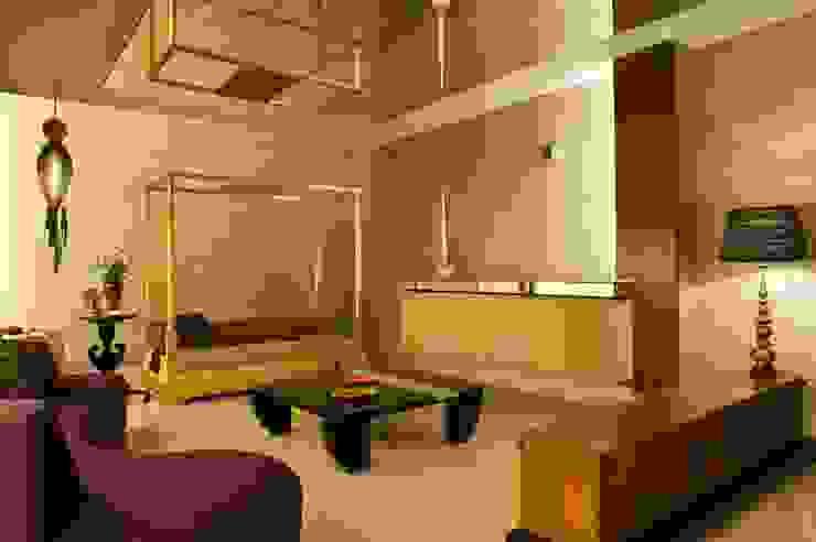 Verma Residence Modern living room by Untitled Design Modern